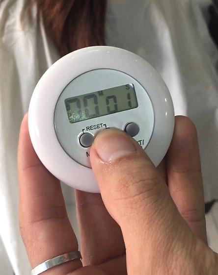 Combo 3 cái Đồng hồ hẹn giờ canh thuốc có kẹp ghim