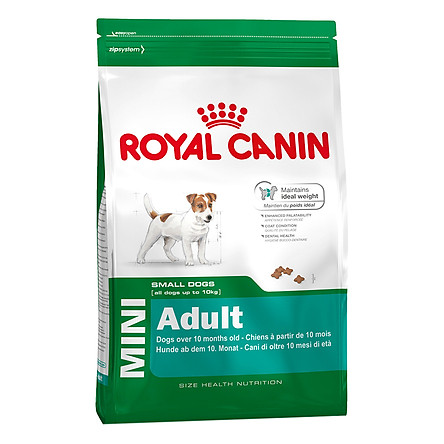 Thức Ăn Cho Chó Royal Canin Mini Adult (2kg)