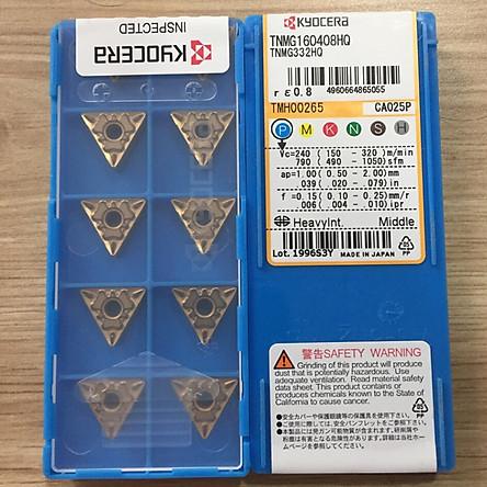 Mảnh dao tiện CNC KYOCERA TNMG160408HQ/CA025P TMH00265