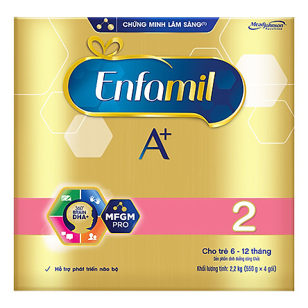 Sữa Bột Enfamil A+ 2 (2,2kg)