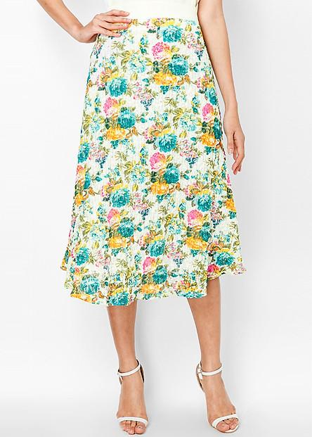 Váy Dài Ren In Bông Hồng Xh - E 811 Elly
