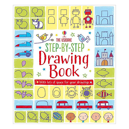 Usborne Step-by-step Drawing Book