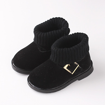 Bốt len siêu xinh cho bé gái 1 - 3 tuổi cổ len mềm mại có 3 màu GC46