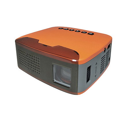 """MY20 Mini Portable LCD Projector 400 Lumens Full HD 1080P 110"""" LED Movies Video Multimedia Projection Machine for Family"""