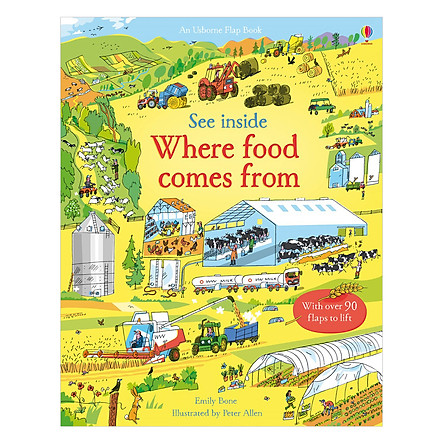 Usborne See Inside Where food comes from