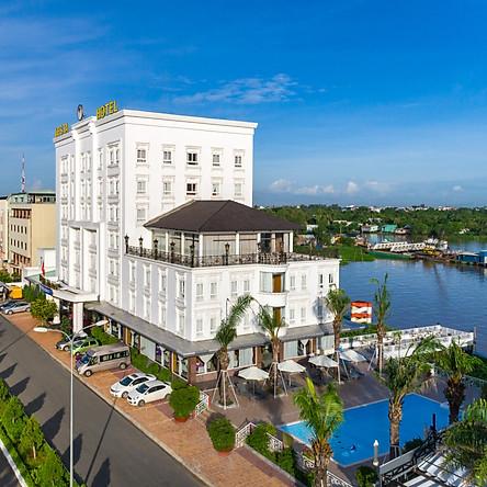 Nesta Cần Thơ Hotel 4* - Gần Bến Phà Cần Thơ Và Chợ Nổi, Gồm Buffet Sáng, Không Phụ Thu Cuối Tuần & Dịp Lễ Giá Ưu Đãi 2021