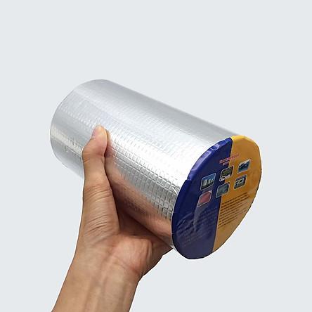 Băng keo chống thấm dột đa năng siêu dính khổ lớn 200mm dài 5m