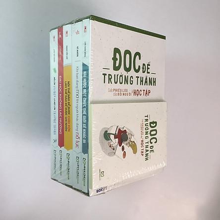 Boxset 5 cuốn Đọc Để Trưởng Thành - Cuộc phiêu lưu của đời người là HỌC TẬP