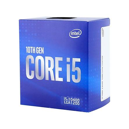 CPU Intel Core i5-10400 (2.90 GHz up to 4.30 GHz / 6C 12T / 12M Cache) - Hàng Chính Hãng