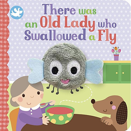 Little Me There Was an Old Lady Who Swallowed a Fly Finger Puppet Book