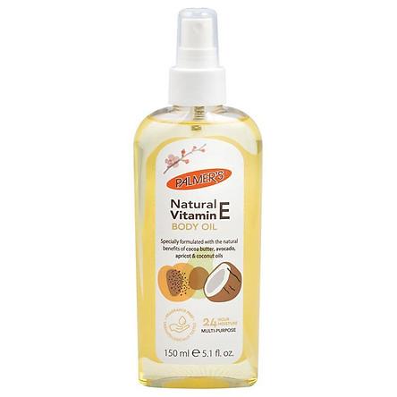 Palmers Cocoa Butter Natural Vitamin E Body Oil 150ml