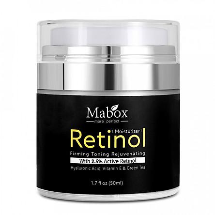 Kem Mabox Dưỡng Ẩm Da 2.5% Retinol Collagen Vitamin E Chống Lão Hóa (50ml)