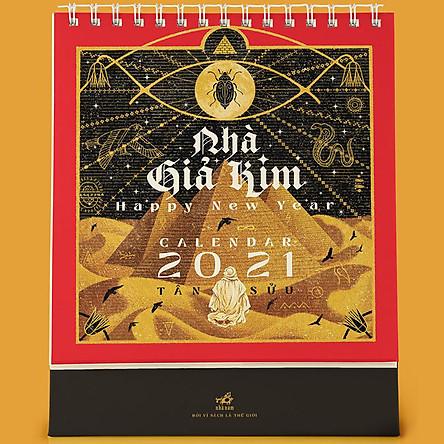 Lịch Để Bàn Nhã Nam - Nhà Giả Kim 2021
