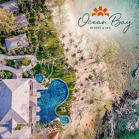 Gói 3N2Đ Ocean Bay Resort & Spa 5* Phú Quốc - Buffet Sáng, Bãi Biển, Hồ Bơi Vô Cực Siêu Đẹp, Xe Đón Tiễn Sân Bay, Không Gian Xanh, Yên Tĩnh