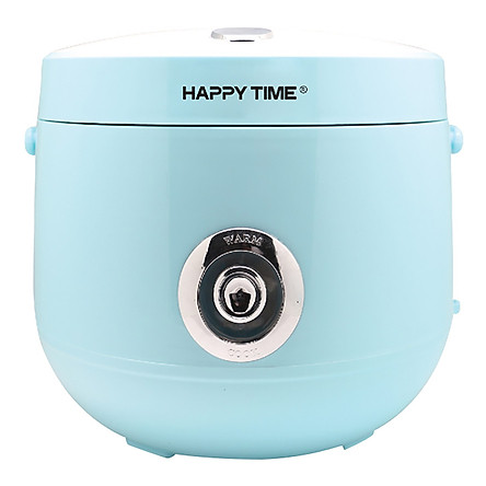 Nồi Cơm Điện Nắp Gài Happy Time Sunhouse HTD8522G (1.2 lít) - Xanh - Hàng chính hãng