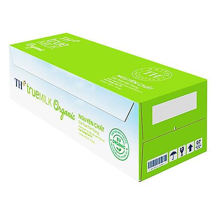 Thùng Sữa Tươi Hữu Cơ TH True Milk Organic (500ml x 12 Hộp)