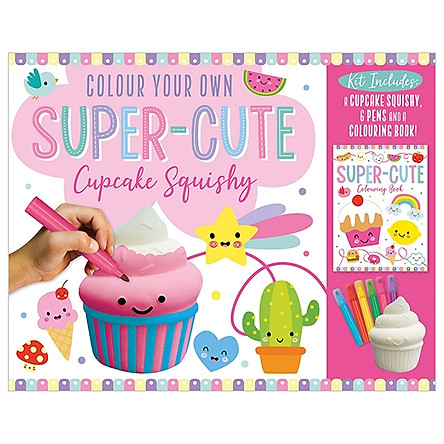 Colour Your Own Super-Cute Cupcake Squishy