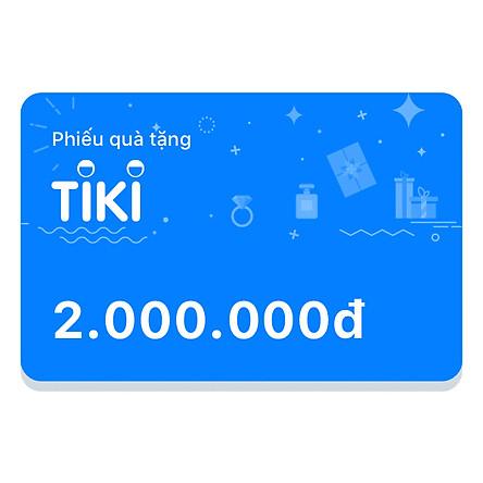 Phiếu Quà Tặng Tiki 2.000.000đ