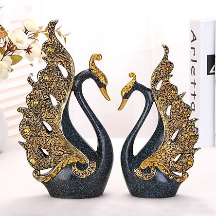 Cặp Tượng Thiên nga trang trí TTN108