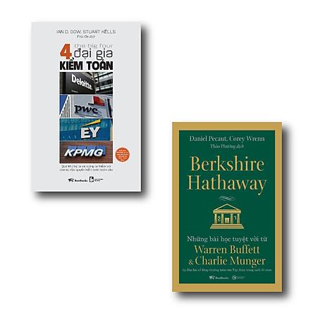 Combo 4 đại gia kiểm toán - Deloitte - PwC - EY - KPMG: Quá khứ kỳ lạ và tương lai hiểm trở của sự độc quyền kiểm toán toàn cầu + Berkshire Hathaway - Những Bài Học Tuyệt Vời Từ Warren Buffett Và Charlie Munger