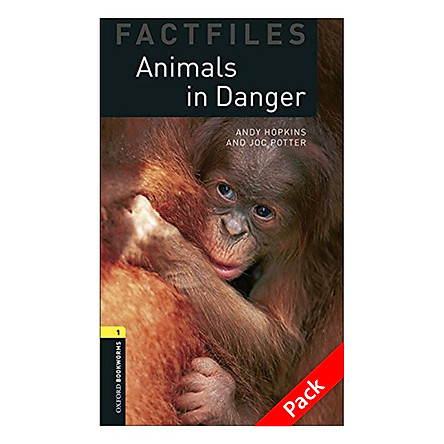 Oxford Bookworms Library (3 Ed.) 1: Animals In Danger Factfile Audio CD Pack