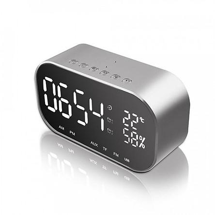Loa Bluetooth Kiêm Đồng Hồ Báo Thức Yayusi S2 -Dc210 màu ngẫu nhiên