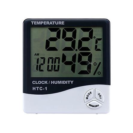Đồng hồ thông minh đo nhiệt độ và độ ẩm HTC-1