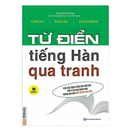 Từ Điển Tiếng Hàn Qua Tranh (Tặng Kho Audio Books)