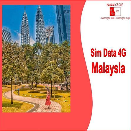 Sim Data 4G Malaysia Không Giới Hạn Dung Lượng
