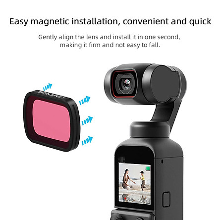 Diving Filter Color Lens Underwater Video Photography for DJI Pocket 2/Osmo Pocket PTZ Camera Accessories