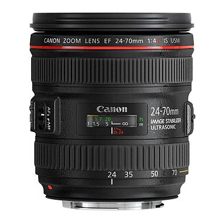 Lens Canon EF 24-70mm f/4L IS USM - Hàng Chính Hãng