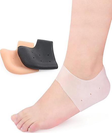 2 Miếng Lót Giày Silicon Bảo Vệ Gót Chân Dễ Dàng Sử Dụng Không Gây Cảm Giác Cộm Chân , Vệ Sinh Nhanh Chóng Không Bám Mùi- LG020