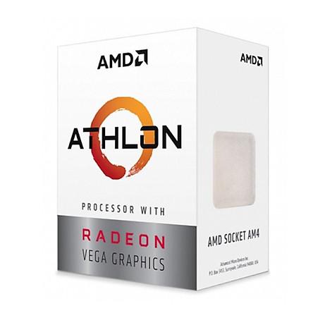 Bộ Vi Xử Lý CPU AMD Athlon 200GE Processor With Radeon Vega 3 Graphics - Hàng Chính Hãng