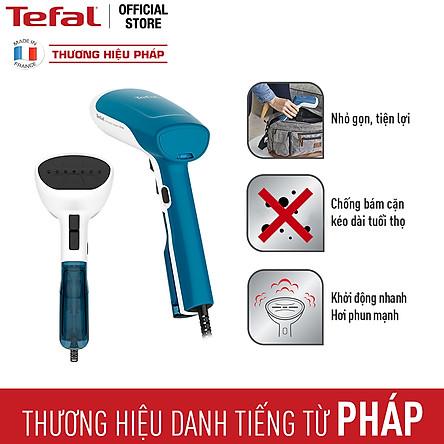 Bàn ủi cầm tay Tefal DT6130E0 - Công suất 1100W - 1300W - Phun hơi 17g/phút - Chức năng chống cặn - Hàng chính hãng