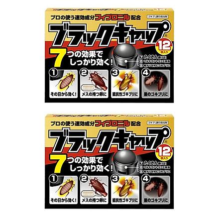 Combo 2 hộp thuốc viên diệt gián nội địa Nhật Bản