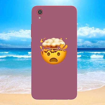 Ốp điện thoại dành cho máy Vivo Y91C - emoji kute MS EMJKT038