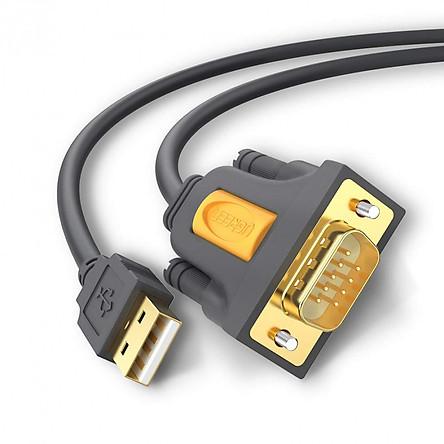 Cáp USB to Com RS232 DB9 chính hãng Ugreen 20210 dài 1m