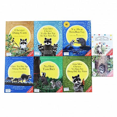 Sách Picturebook song ngữ - Gấu mèo Chester (Bộ 8 cuốn)