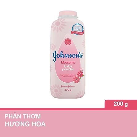 Phấn thơm Johnson's Baby hương hoa 200g