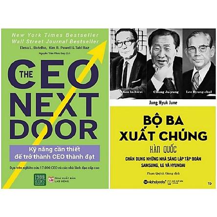 Combo 2 Cuốn: Bộ Ba Xuất Chúng Hàn Quốc + Kỹ Năng Cần Thiết Để Trở Thành CEO Thành Đạt (The Ceo Next Door)