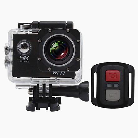 Camera Hành Trình Xe Máy Chống Nước Màn Hình 4k Có Điều Khiển Wifi F65C