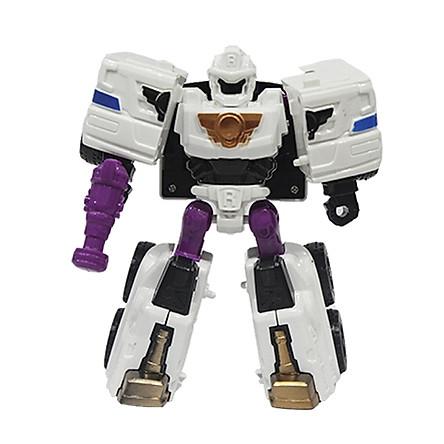 Đồ Chơi Robot Biến Hình Xe Cứu Hỏa Boy Toys - L015-33A - Màu Trắng