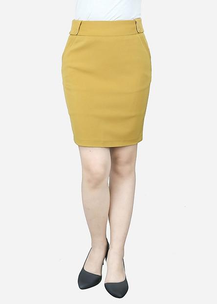 Chân Váy Nữ VDS1852VA - Vàng