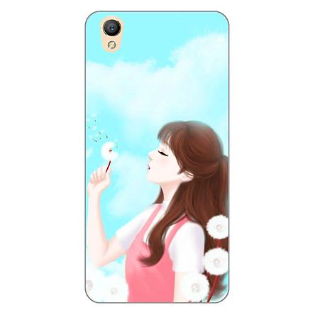 Ốp lưng dẻo cho điện thoại Oppo Neo 9 (A37) _Girl 11