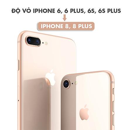 Độ Vỏ iPhone 6, 6 Plus, 6S, 6S Plus Thành iPhone 8, 8 Plus