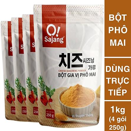 1kg Bột Phô Mai Cheese (4 gói 250g)