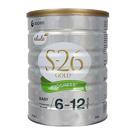 Sữa S26 Gold Progress Úc số 2(900g) cho trẻ từ 6 tháng tuổi