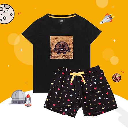 BT21 x HUNT Spangle Pajama Set Shooky HILO91101T