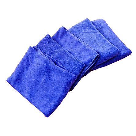 Bộ 5 khăn lau ô tô, xe hơi cao cấp, siêu sạch 30x70cm