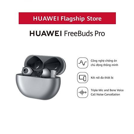 Tai nghe Bluetooth HUAWEI FreeBuds Pro - Hàng Phân Phối Chính Hãng
